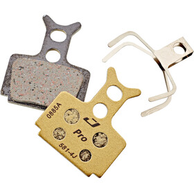 Jagwire Disc Pro semi-metallisk Bremsebelægninger til Formula R1R R1 C1 CR3 T1R T1 ROR RO Cura sort/guld